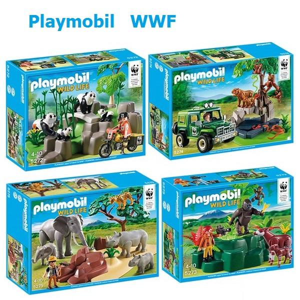 playmobil wwf fanny et olivier