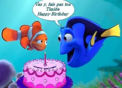 Bon anniversaire doris - Doris et nemo ...