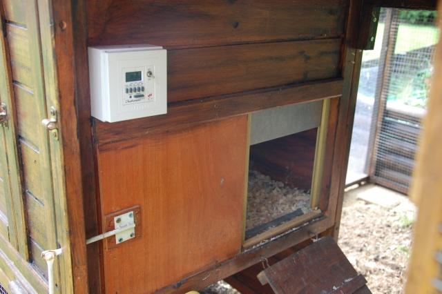 Ouverturefermeture Automatique - Fabriquer porte poulailler automatique
