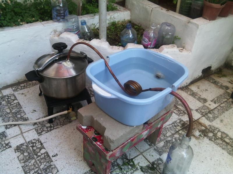 La fraicheur de mes basilics for Alambic maison cocotte minute