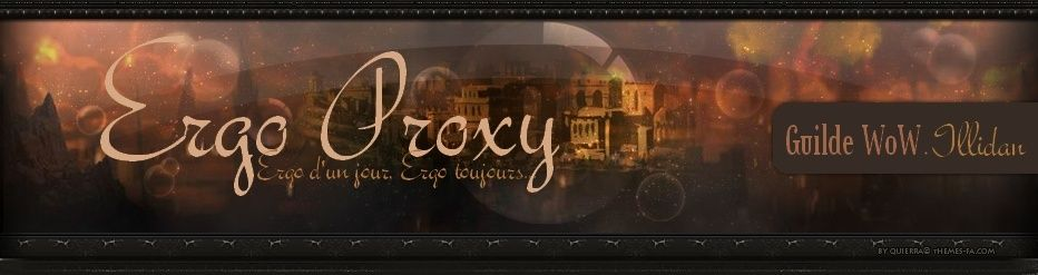 ERGO PROXY - Game Guilde