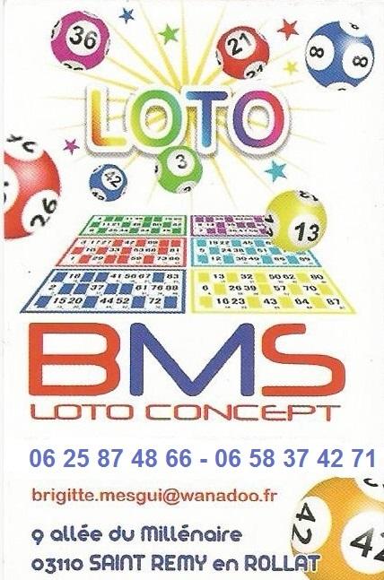 03 bms loto concept animateur loto allier puy de for Loto dans 01