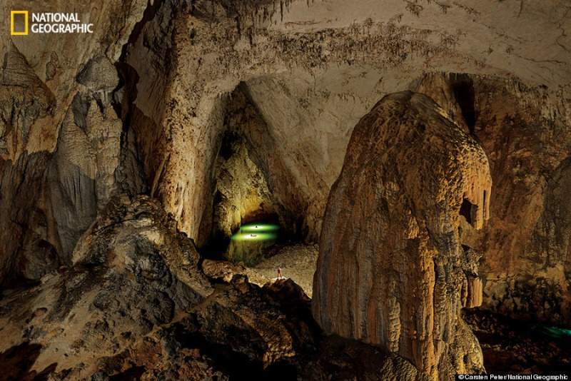 Worlds Largest Cavern - Er wang dong cave china large weather system