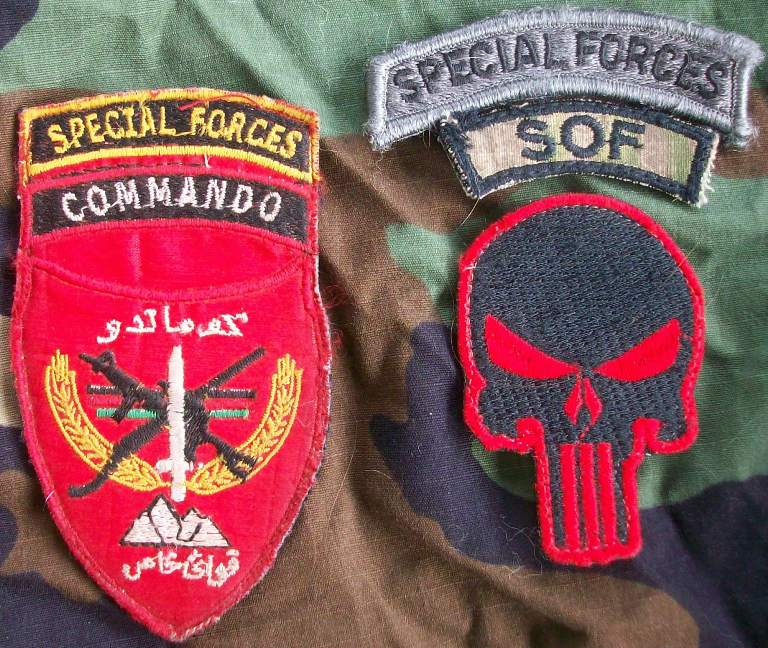 Iraqi special forces patch