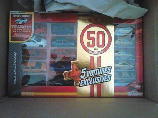 Pack anniversaire des 50 ans de majorette for Pack diagral anniversaire