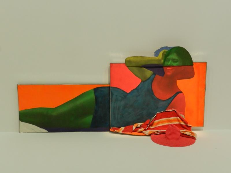 Célèbre Rétrospective Martial Raysse 1960 - 2014 - Beaubourg YI66