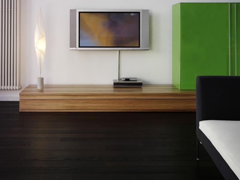 parquet de couleur noir. Black Bedroom Furniture Sets. Home Design Ideas