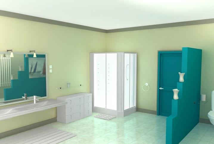 Chambre Bebe Bleu Et Blanche : Idées couleur des murs pour cuisine vert amande et chocolat