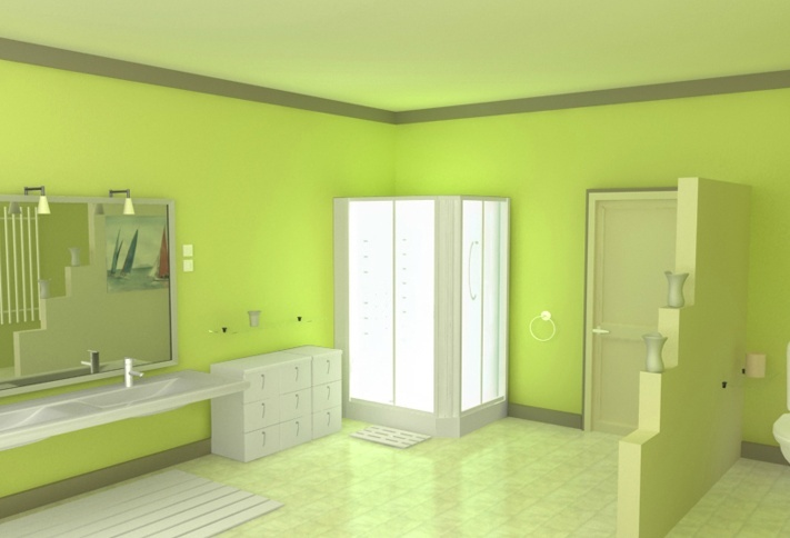 Peinture vert amande meilleures images d 39 inspiration pour votre design de maison for Peinture chambre vert amande