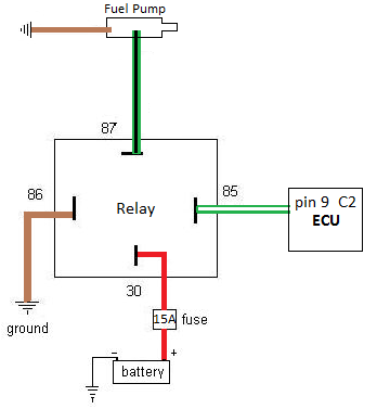 12v 30a relay 4 pin wiring diagram 40a relay diagram wiring diagrams