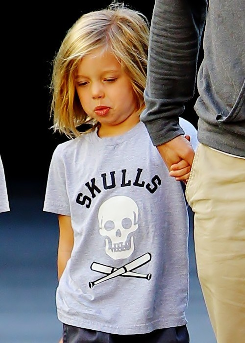 Shiloh is a very cool kid, a childhood family friend of angelina 2019s explained