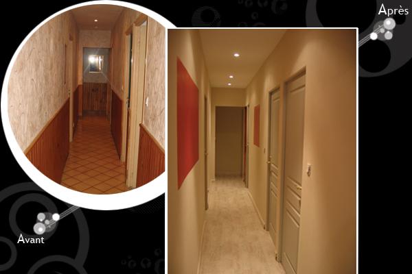 Peinture d 39 un couloir troit et assez long for Deco moderne forum