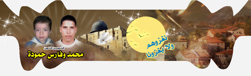 ملتقى الشهيدين محمد وفارس حمودة