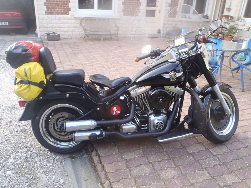 Harley Davidson Fat Boy Confort Passager