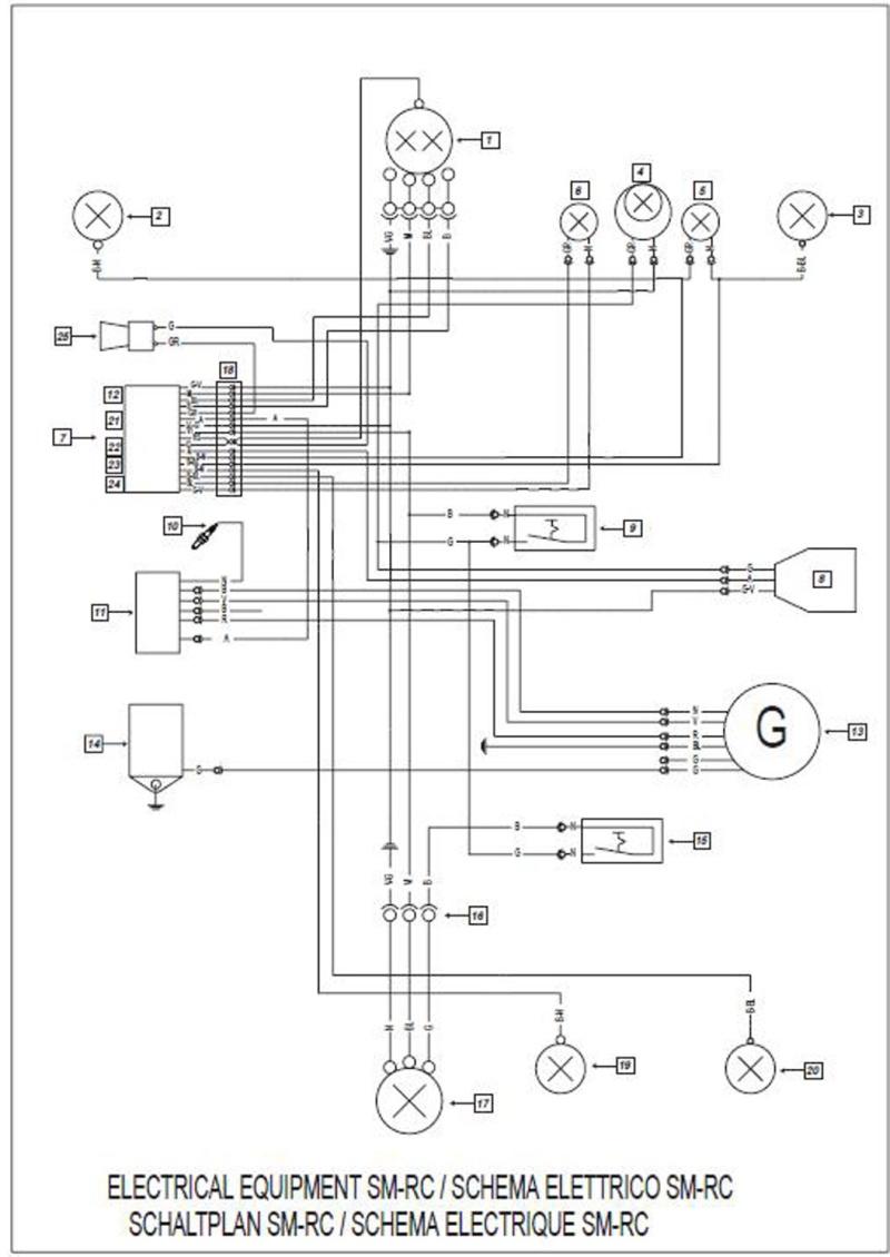 Schema Elettrico Trattore Fiat : Help schema elettrico