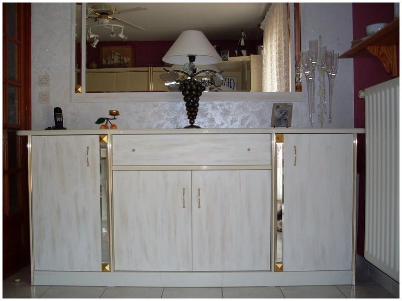 Changer le look d 39 anciens meubles - Peinture a essuyer liberon ...