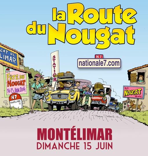 26 15 06 2014 la route du nougat mont limar for Route nationale 104