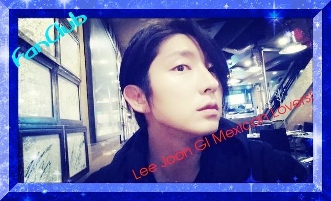 Lee Joon GI Mexican Lovers!