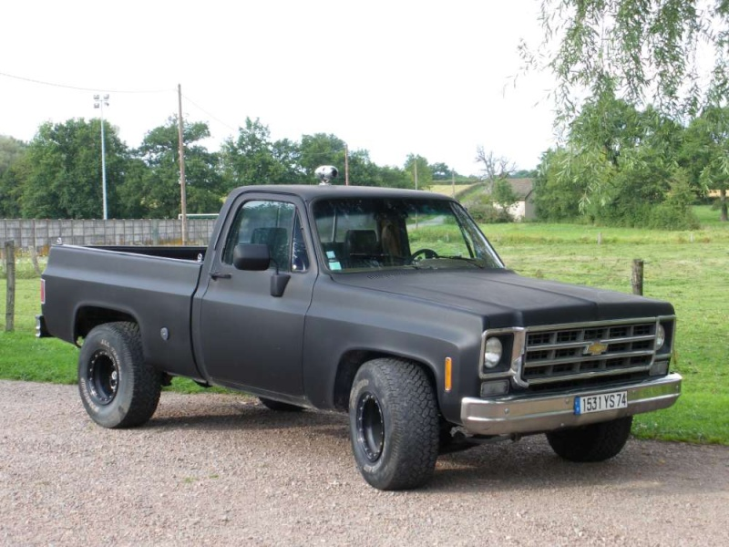 Extrem Chevy pick-up GZ56