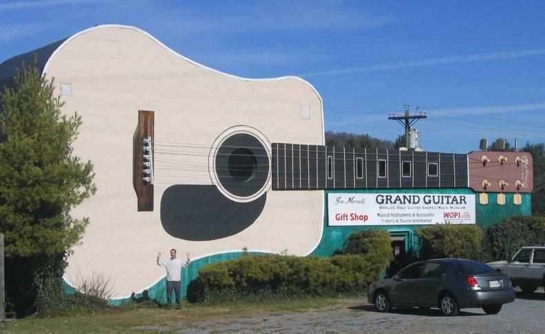 Les maisons en forme d 39 instruments de musique for Maison en forme de t
