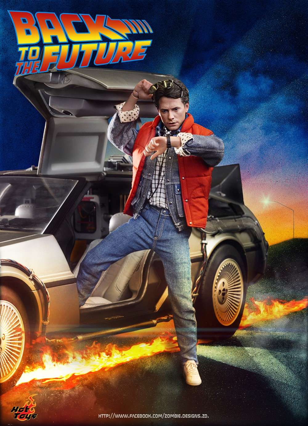 mms257 back to the future marty mcfly. Black Bedroom Furniture Sets. Home Design Ideas