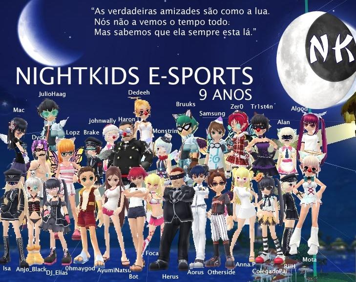 NightKids Eletronic Sports - DESDE 25/10/2005 jogando PangYa !!