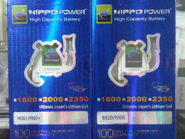 BATERAI BLACKBERRY HIPPO POWER HIGH CAPACITY
