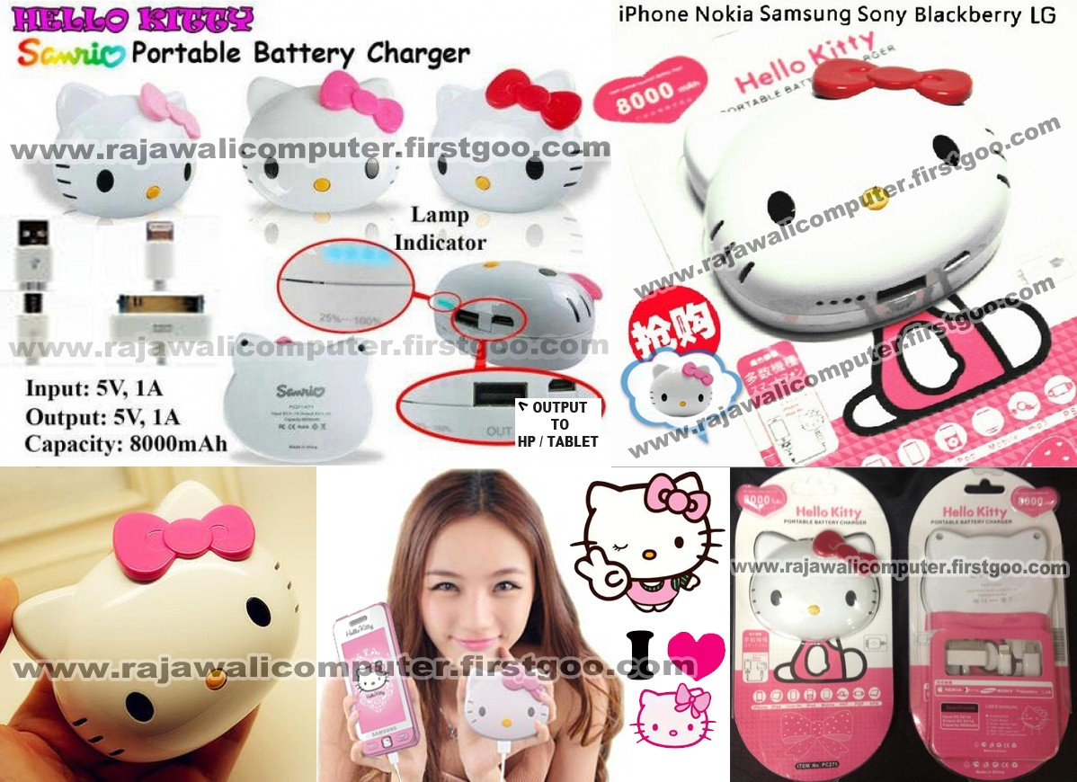POWERBANK HELLO KITTY SANRIO 8000MAH