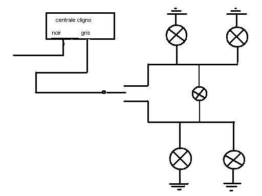 schema electrique clignotant mehari
