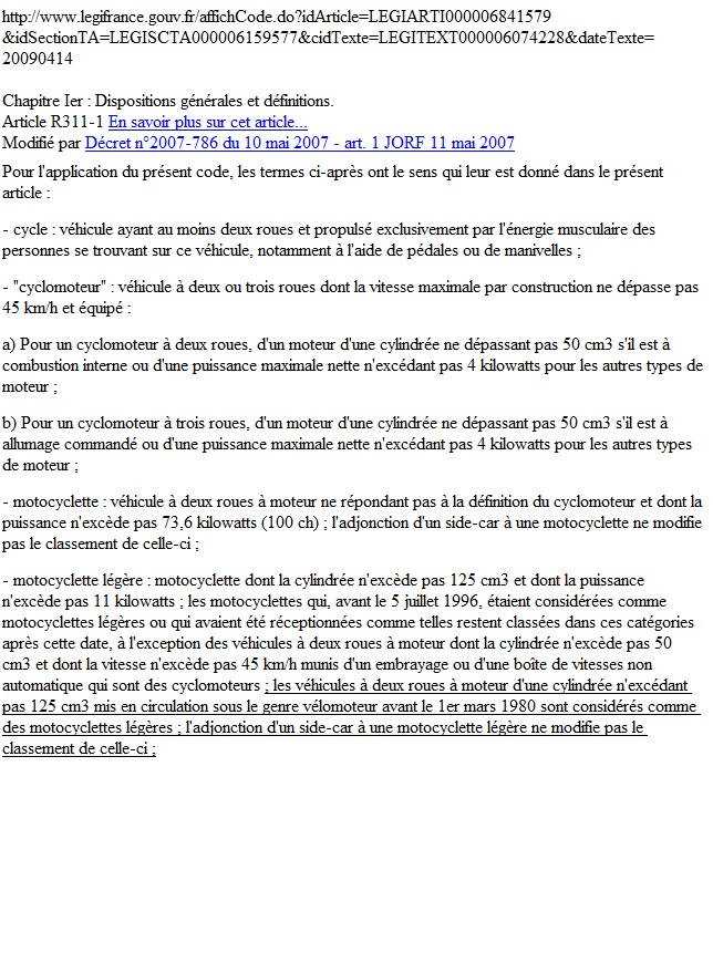 question sur les 125 de plus de 15 cv