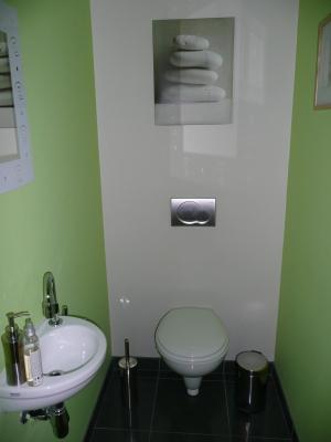 Besoins de conseils pour mes toilettes for Peinture pour wc