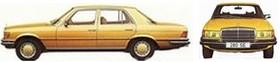 W116 : la classe S des années 70