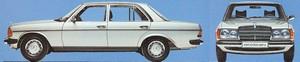 W123 : les berline, break et coupé (1976-1985)