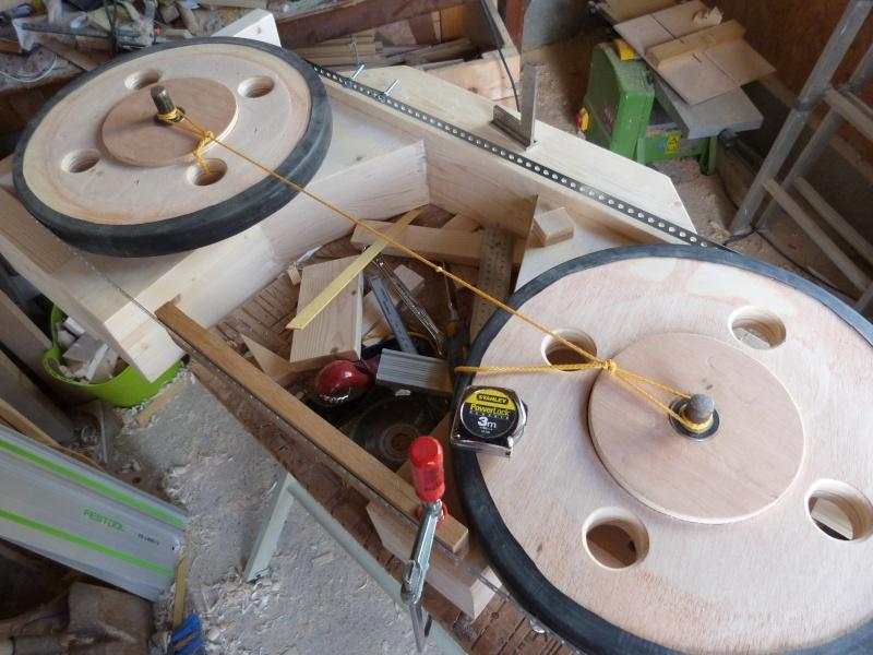 Fabrication scie ruban en bois page 5 - Scie sur table fabrication maison ...