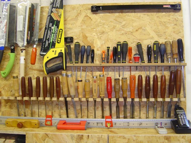 Agencement panneau outils page 2 - Comment ranger les outils de jardin ...