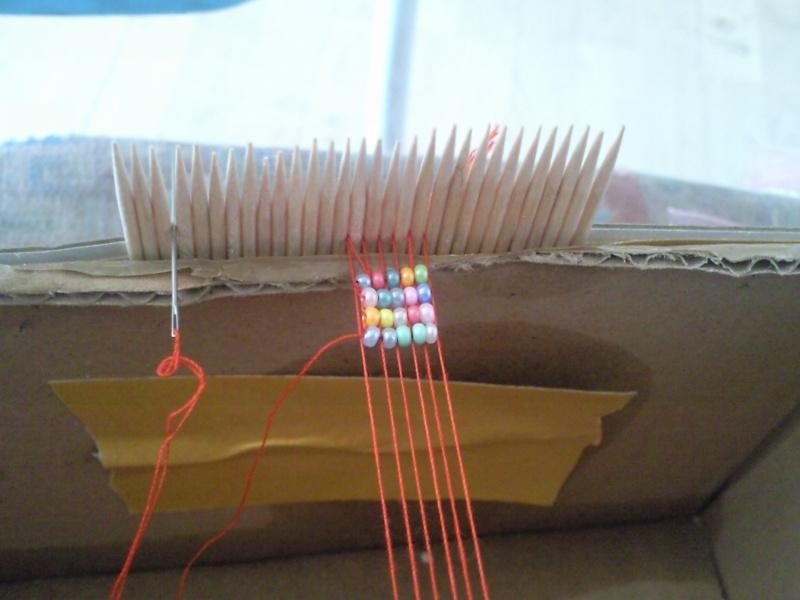 Fabriquer Sont Metier A Tisser Fourmicoty Fourmicoton