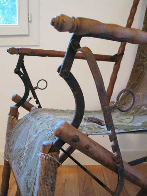chaise longue art nouveau. Black Bedroom Furniture Sets. Home Design Ideas