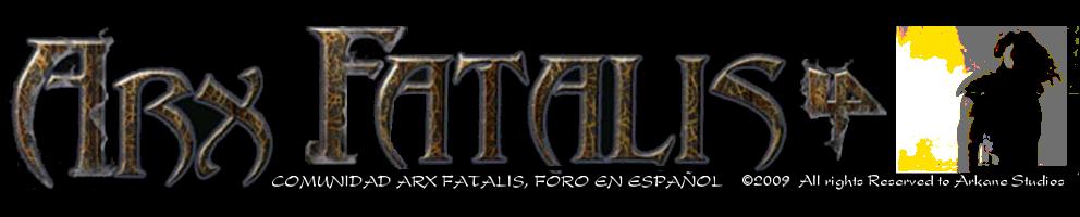Comunidad Arx Fatalis. Foro en Español