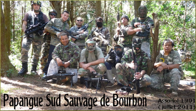 Papangue Sud Sauvage de Bourbon