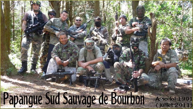 Papangue Sud Sauvage de Bourbon