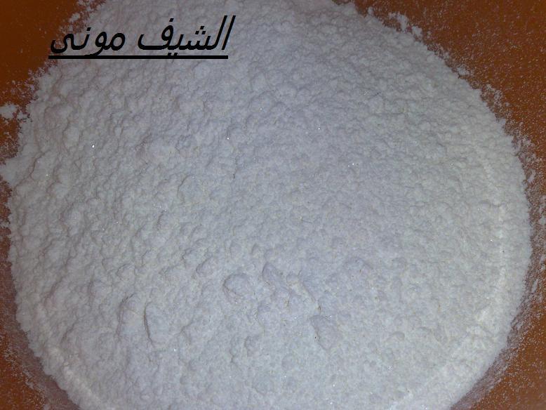 السلام عليكم ورحمة الله مكونات الكيكة الاسفنجية: نص كيلو دقيق