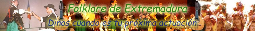 - Folklore de Extremadura -
