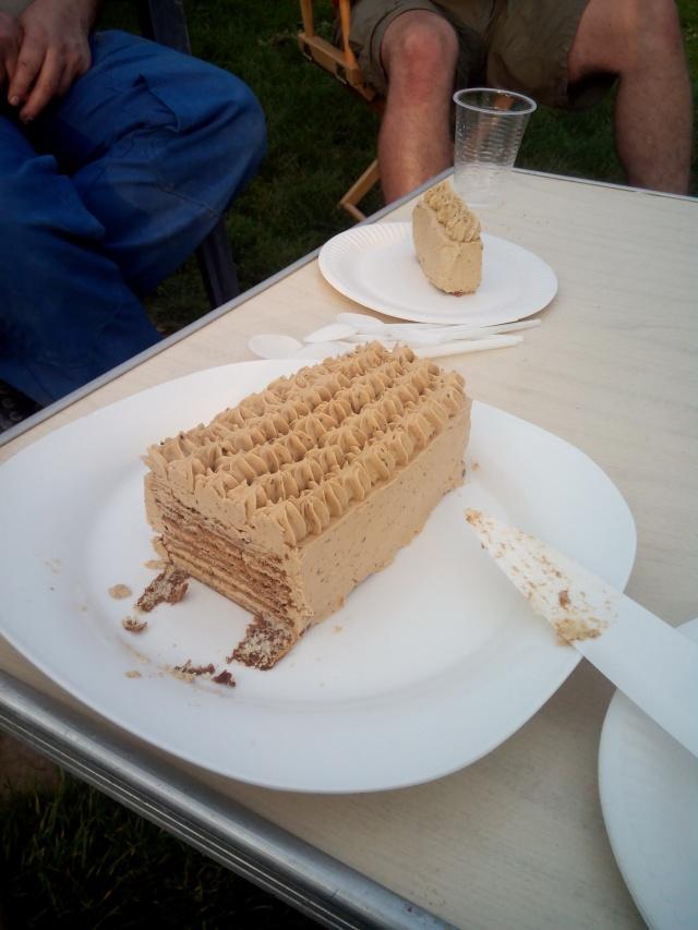 gâteau moka facile et vite fait