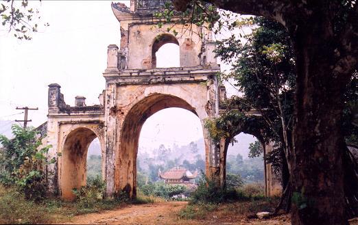 Cổng đền Phố Cát - Thạch Thành, Thanh Hóa