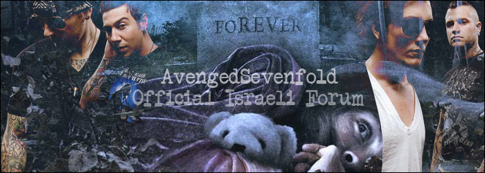 A7X - The Official Israeli Forum