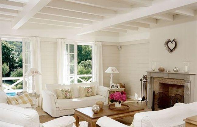 Demande de conseil pour repeindre un salon avec grande for Salon poutre apparente