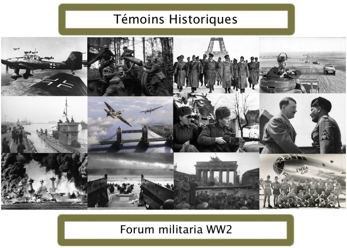 Témoins historiques