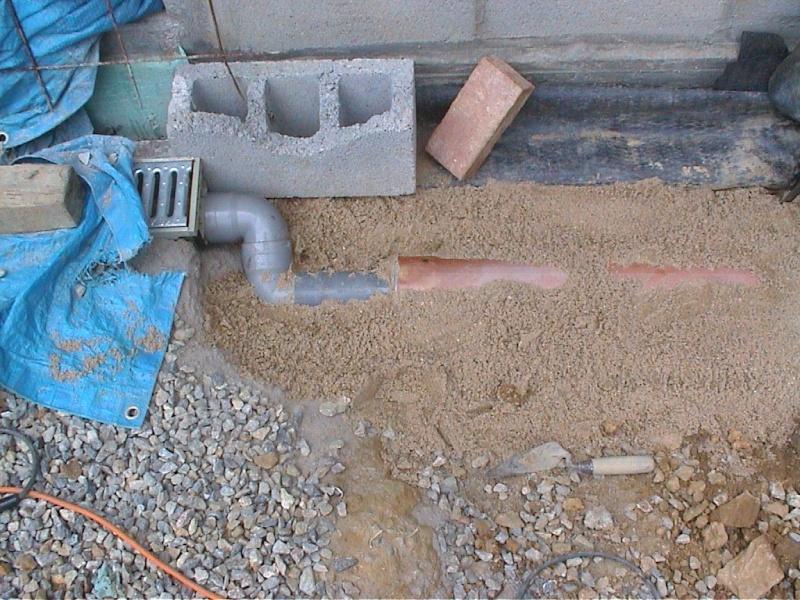 Construction de la maison de mon fils page 6 for Nettoyage puisard garage