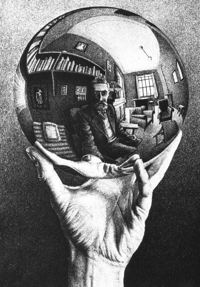Gravure d'Escher