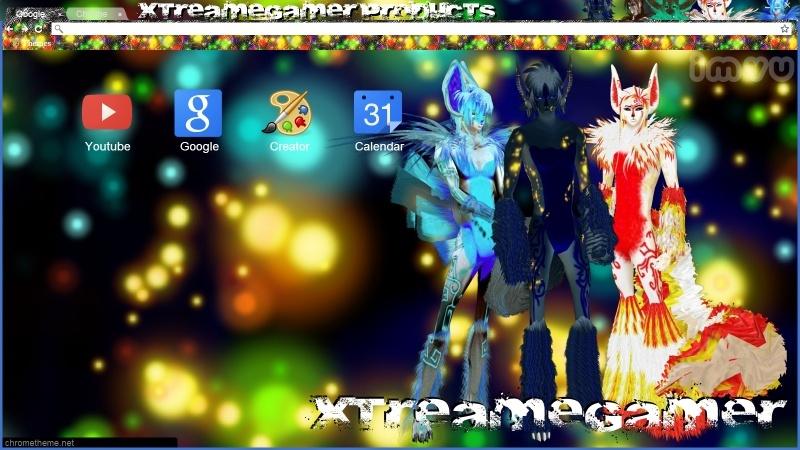 {XG} Google Chrome Theme